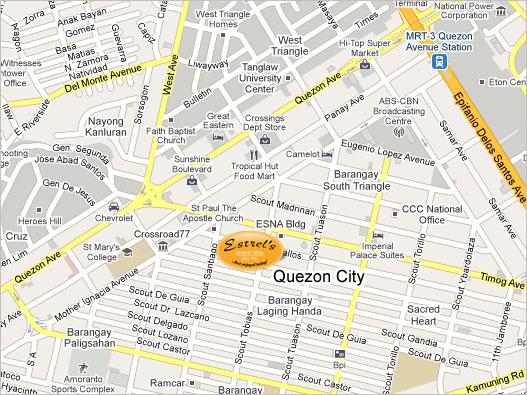 Estrels map